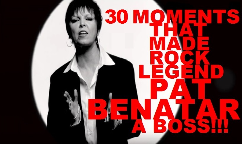 //.rockwired.com/PatBenatarHeading.jpg  sc 1 st  ROCKWiRED.COM & ROCKWIRED MAGAZiNEu0027S 30 MOMENTS: PAT BENATAR | 30 MOMENTS THAT MADE ...